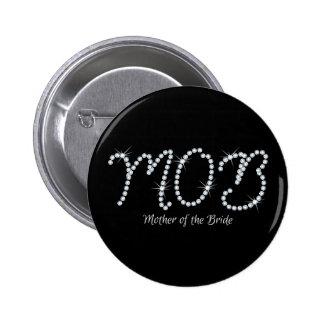 Falso diamante artificial MOTB Pin Redondo 5 Cm
