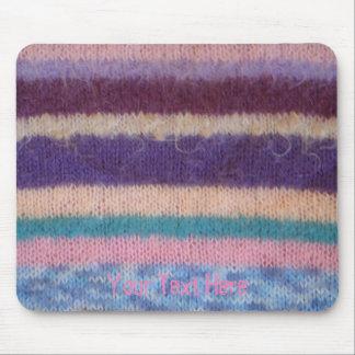 falso diseño retro hecho punto colorido de la mouse pads