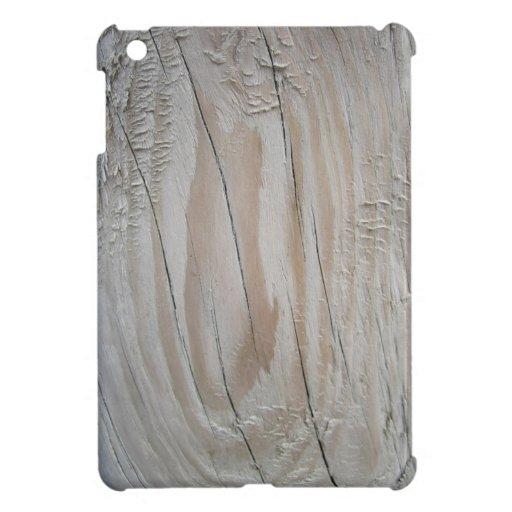 Falso Driftwood agrietado iPad Mini Carcasas