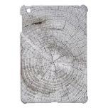 Falso Driftwood agrietado iPad Mini Funda