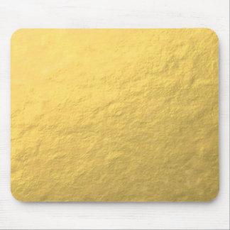 Falso efecto de la hoja de oro impreso alfombrilla de ratón