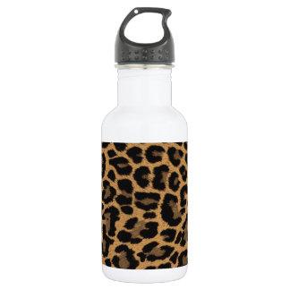falso estampado leopardo