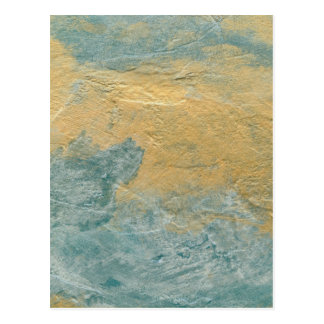 Falso final de la turquesa de cobre postal