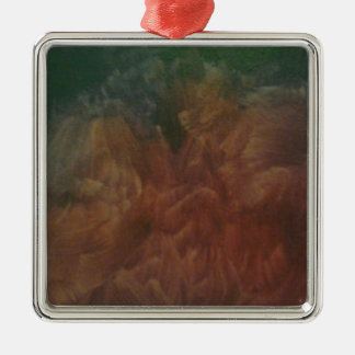 Falso final púrpura cepillado ornaments para arbol de navidad