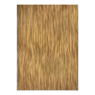 Falso fondo de madera áspero en color natural invitaciones magnéticas