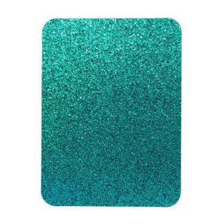 Falso fondo S del brillo de las azules turquesas Imanes Flexibles