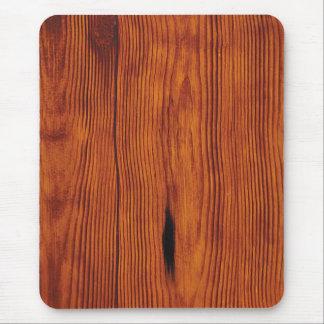 falso grano de madera Mousepad