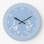 Falso Jasperware Reloj De Pared