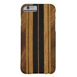 Falso Koa caso de madera del iPhone 6 de la tabla Funda De iPhone 6 Barely There