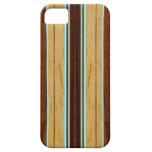 Falso Koa iPhone de madera de la tabla hawaiana de iPhone 5 Coberturas