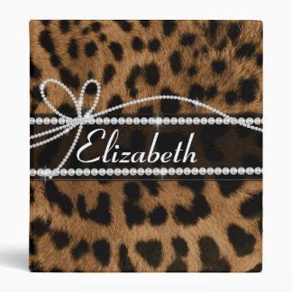 """Falso leopardo negro marrón femenino elegante de m carpeta 1"""""""