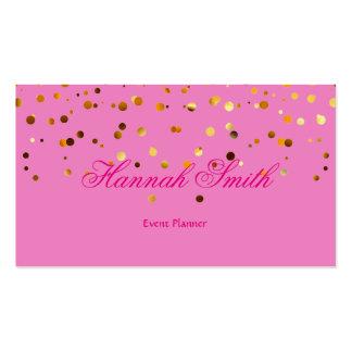 Falso llano elegante moderno atractivo profesional tarjetas de visita