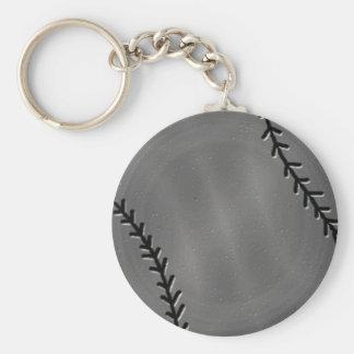 Falso llavero del béisbol del estaño
