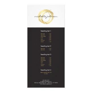 Falso logotipo pintado oro de lujo del diseñador lona personalizada