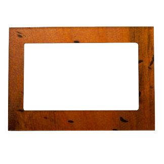 Falso marco magnético de madera del pino báltico marcos magneticos para fotos