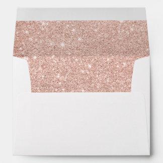 Falso mármol femenino del blanco del ombre del sobre