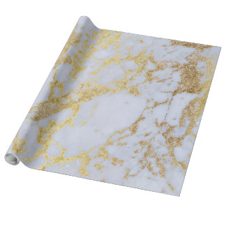 Falso mármol moderno de moda impresionante del papel de regalo