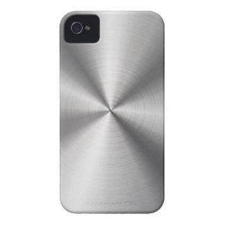 Falso metal del acero inoxidable carcasa para iPhone 4 de Case-Mate