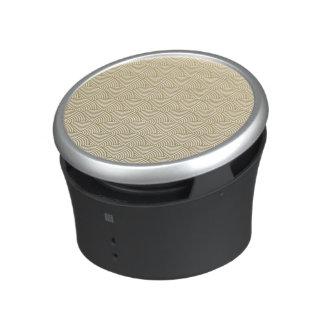 Falso modelo blanco de la fan del círculo de la altavoz bluetooth