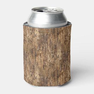 Falso modelo de la mirada de la textura de la enfriador de latas