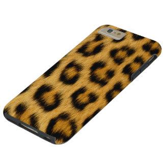 FALSO MODELO DEL LEOPARDO IPHONE6 FUNDA DE iPhone 6 PLUS TOUGH