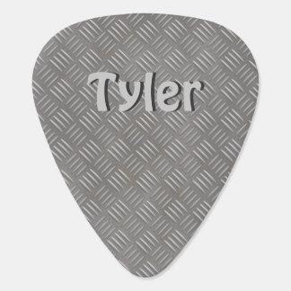 Falso nombre personalizado púa de guitarra