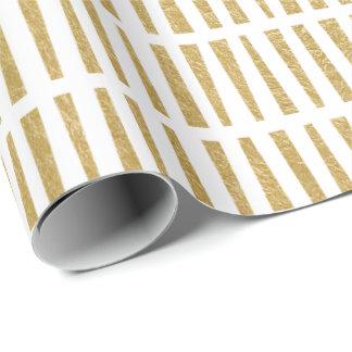 Falso papel de embalaje geométrico del modelo de papel de regalo