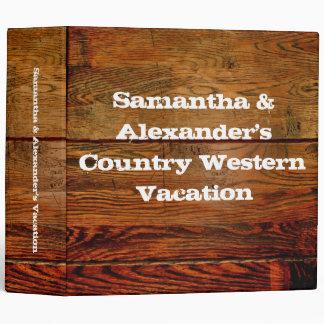 Falso personalizado personalizado tablón de madera