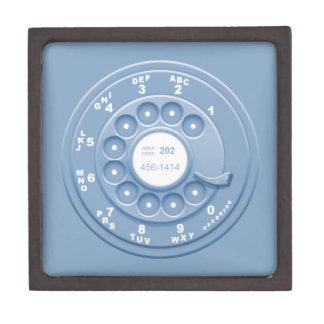 Falso rotatorio - azul caja de regalo de calidad