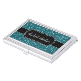 FALSO tenedor elegante de la tarjeta de visita del Cajas De Tarjetas De Negocios