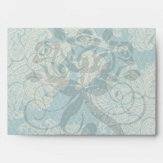 falso trullo del cordón y modelo floral poner crem sobres