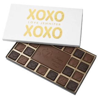 Falsos chocolates del el día de San Valentín de la Caja De Bombones Variados Con 45 Piezas
