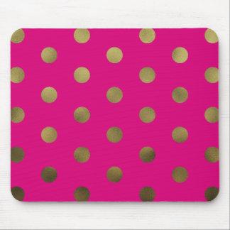 Falsos lunares atractivos de neón Mousepad moderno