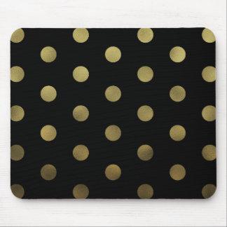 Falsos lunares atractivos Mousepad moderno del oro Tapetes De Raton