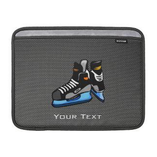 Falsos patines del hockey de la fibra de carbono fundas macbook air