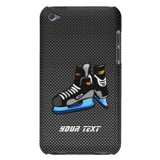 Falsos patines del hockey de la fibra de carbono iPod touch cobertura