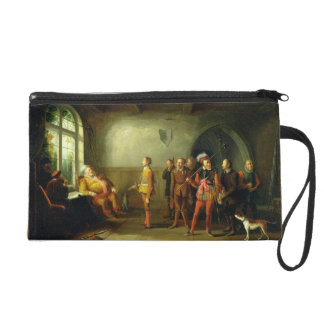 Falstaff and the Recruits, from 'Henry IV, Part II Wristlet Purse