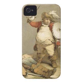Falstaff con el cuerpo de Hotspur, c.1786 (aceite  iPhone 4 Cárcasa