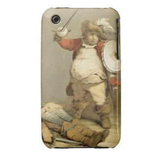 Falstaff con el cuerpo de Hotspur, c.1786 (aceite Case-Mate iPhone 3 Protectores