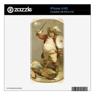 Falstaff con el cuerpo de Hotspur, c.1786 (aceite  Calcomanía Para El iPhone 4