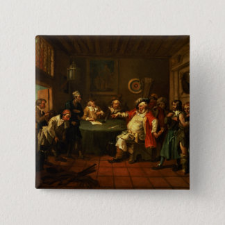 Falstaff Examining his Recruits from Henry IV Pinback Button