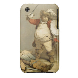 Falstaff with the Body of Hotspur, c.1786 (oil on iPhone 3 Case