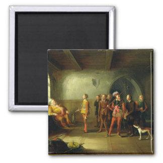 Falstaff y los reclutas, del 'Enrique IV, parte II Imán Cuadrado