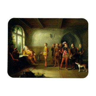 Falstaff y los reclutas, del 'Enrique IV, parte II Imanes De Vinilo