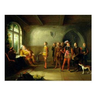 Falstaff y los reclutas, del 'Enrique IV, parte II Tarjeta Postal