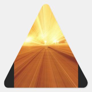 Falta de definición abstracta amarillo-naranja del etiqueta
