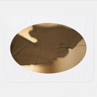 Falta de definición abstracta de tintes marrones manta de bebé