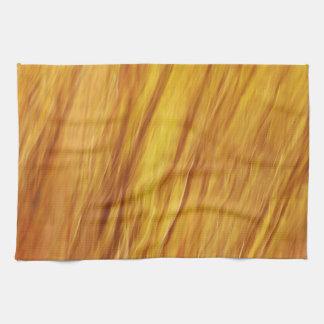 Falta de definición ardiente del otoño toallas