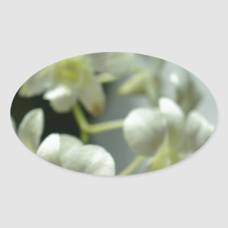 Falta de definición blanca bonita pegatina