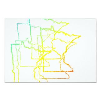 """falta de definición de la frialdad de Minnesota Invitación 3.5"""" X 5"""""""